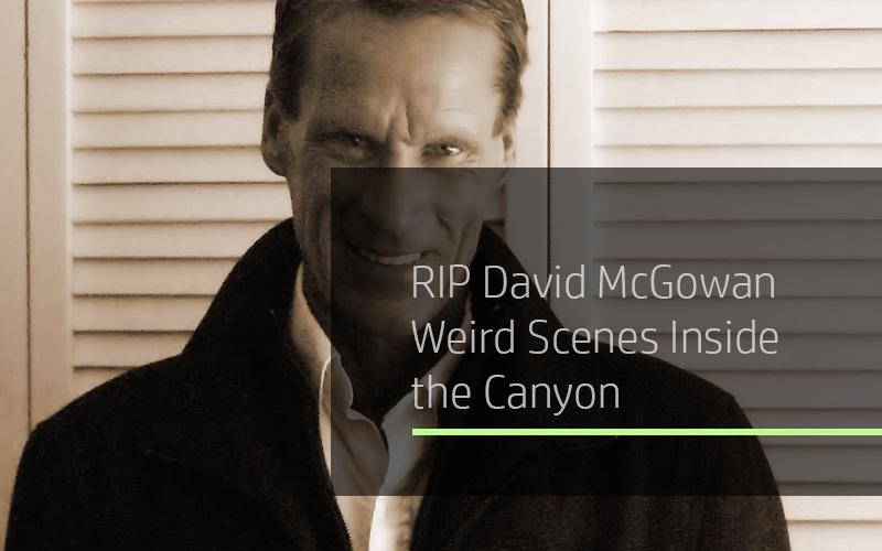 RIP David McGowan