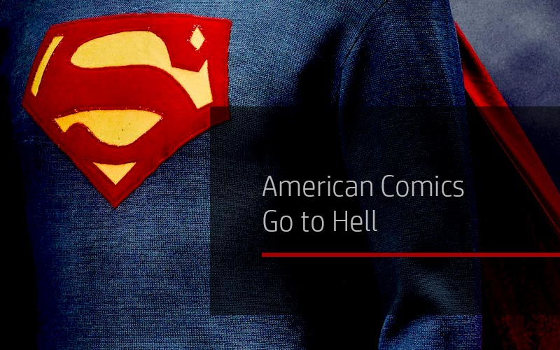 American Comics Go to Hell