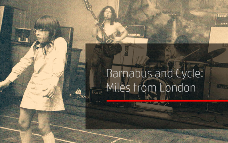 Barnabus and Cycle: Miles from London