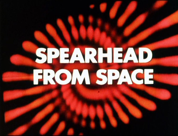 Doctor Who Spearhead from Space titles